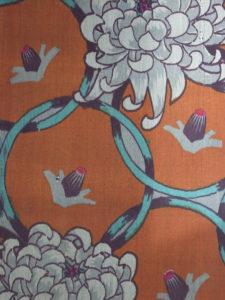 輪繋ぎ菊模様